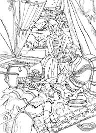 Lesson Esau Tricked Sunday School ActivitiesBible Coloring PagesChildren