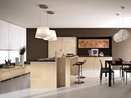 deco cuisine taupe cuisine moderne marron