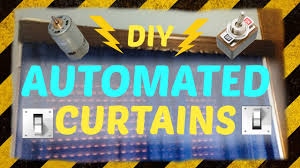 diy automated curtains for 3 youtube