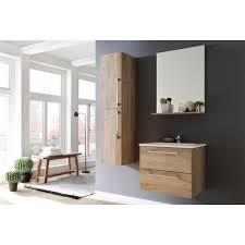 badezimmer kombination trüffel eiche 4 teiliges set