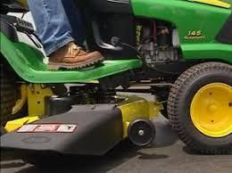 John Deere 1025r Mower Deck Adjustment by John Deere Maintenance Monday Mower Deck Leveling Living The