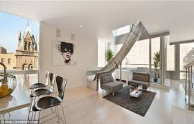 100 Nyc Duplex This NYC Has An 18Foot Stainless Steel Slide Inside Complex