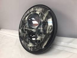7 daymaker replacement custom skull design projector hid led