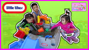 Little Tikes The Big Digger Sandbox Kids Outdoor Toys Review And ... Little Tikes Toys R Us Australia Amazoncom Dirt Diggers 2in1 Dump Truck Games Front Loader Walmartcom From Searscom And Sandboxes Ebay Beach Sandbox Shovel Pail By American Plastic Find More Price Ruced Sandboxpool For Vintage Little Tikes Cstruction Monster Truck Child Size Big Digger Castle Adventures At Hayneedle Mga Turtle Sandpit Amazoncouk