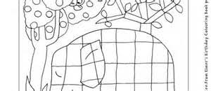 Elmer Elephant Coloring Sheet Free Pages