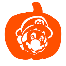 Mario Pumpkin Carving Templates by Pumpkin Pile Hundreds Of Free Pumpkin Carving Patterns