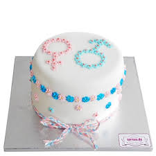 junge oder mädchen torte bestellen gender reveal torte