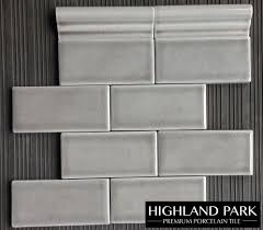 dove gray 3x6 crackle subway tile available from