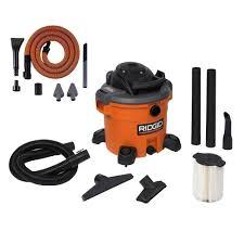 Kobalt Universal Wet Tile Saw Water Pump by Bucket Head 5 Gal 1 75 Peak Hp Wet Dry Vac Bh0100 The Home Depot