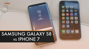 Samsung Galaxy S8 vs iPhone 7 Which is the best