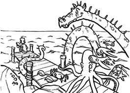 Coloring Pages Fisherman Bunch Ideas Of Fishing Boat
