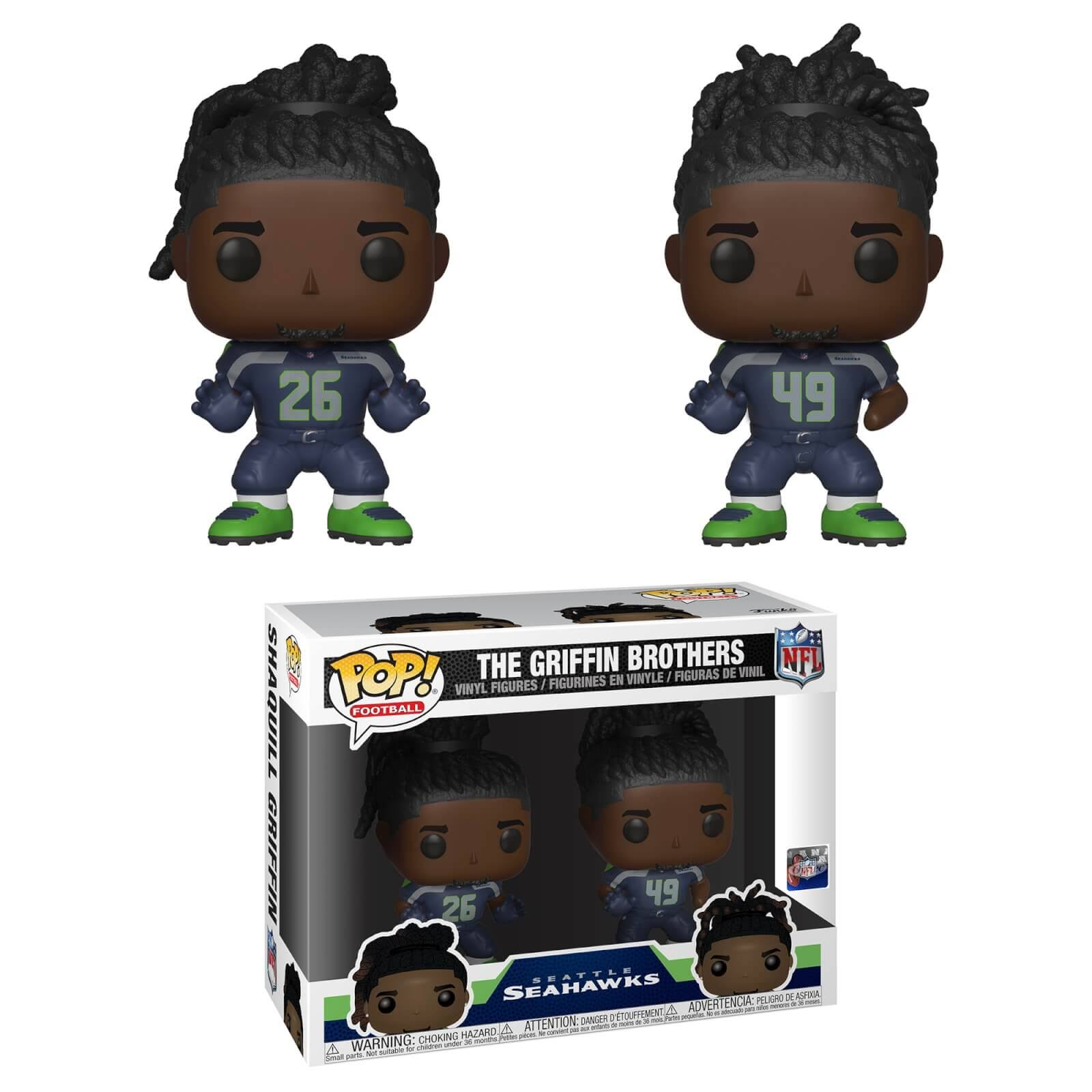 NFL Funko Pop! Griffin Brothers (2-Pack)
