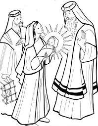 Simeon Meets The Baby Jesus
