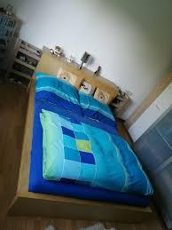 ikea malm bett schlafzimmer