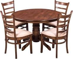 Shop Sting Coco Solid Wood Dining Table Set With 4 Chairs Price In India