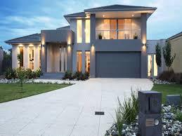 Modern House Fronts by Modern Exterior Home Superhuman Bluestone Modern House Exterior