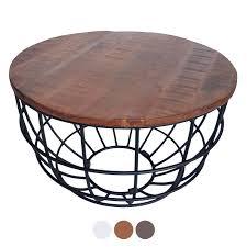 couchtisch wohnzimmer tisch rund beistelltisch ø