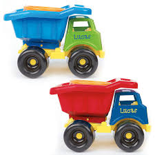 100 Kids Dump Truck Blue Tags Plastic How Many Yards In A Small