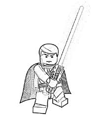 Lego Star Wars Coloring Pages Print