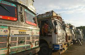 100 Trucking Strike India Truckers End 8Day After Meeting With Government
