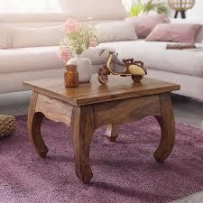 couchtisch opium massiv holz sheesham 60 cm breit wohnzimmer tisch design dunkel braun landhaus stil beistelltisch swisshandel24 wir verschönern