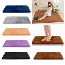 soft memory foam badematte rutschfester saugfähiger samt badteppich teppich
