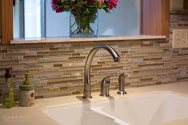 glass mosaic tile backsplash precision floors decor