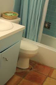 Saltillo Tile Cleaning Los Angeles by Making Shift Bathroom Before U0026 After Photos