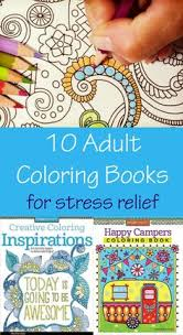 10 Adult Coloring Books For Stress Relief