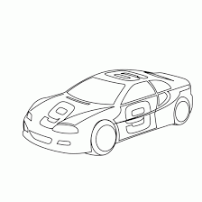 Coloring Book Pages Of Race Cars Bestofcoloring
