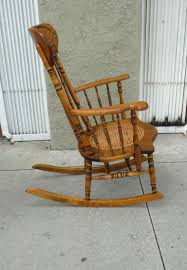 Cane Seat Rocking Chair Elegant Back Design Home Interior With 18 ... Custom Made Antique Oak Rocking Chair By Jp Designbuildrepair Vintage With Pressed Back For Sale At 1stdibs Cane Seat Elegant Design Home Interior With 18 Wooden Childs Barnwood Etsy Hindoro Teakwood Rattan Wicker Windsor Chairs Early Century Yew Wood And Elm Comb An Handcarved Skeleton Lincoln Value Brilliant Best Superior Awesome Used In Photo Concept