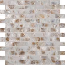 MSI Santorini 12 in x 12 in x 3 mm Glass Mesh Mounted Mosaic