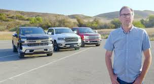 100 Ford Trucks Vs Chevy Trucks Pickup Truck Comparison Test 2019 Ram 1500 Vs Silverado Vs