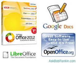 Alternatives to Microsoft fice