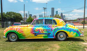 St Arnolds Pumpkinator 2017 by Saint Arnold Brewing Company Starts Phased Rollout Of Art Car Ipa
