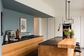 tischlerküche in eiche und granit apm media moderne küchen