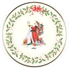 Lenox Christmas Plates Holiday Annual Plate Tree