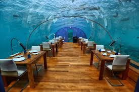 100 Conrad Maldives Underwater The Restaurant Ithaa Review