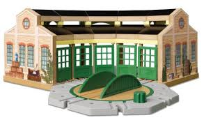 amazon com thomas and friends wooden railway tidmouth sheds