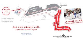 how to get to la vallée directions la vallée
