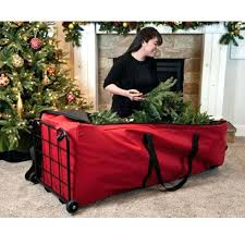 Christmas Tree Bags Spectacular Inspiration Artificial Storage For Slim Disposal Menards
