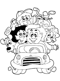 Family Coloring Pages For Your Toddlers It Is Very Important That Kids Have