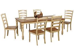 Winners Only Quails Run 7 Piece Turned Leg Table And Ladderback ... Amazoncom Ashley Fniture Signature Design Mallenton East West Avat7blkw 7piece Ding Table Set Hanover Monaco 7 Pc Two Swivel Chairs Four Garden Oasis Harrison Pc Textured Glasstop Small Kitchen And Strikingly Ideas Costway Patio Piece Steel Belham Living Bella All Weather Wicker Athens Reviews Joss Main 7pc Outdoor I Buy Now Free Shipping Winchester And Slatback Ruby Kidkraft Heart Kids Chair Wayfair