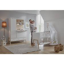 chambre bebe lit et commode schardt set pour chambre d enfant nature avec lit évolutif