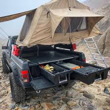 100 Truck Bed Storage System DECKED MT6 Midsize