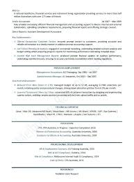 Sample Resume Objectives For Accounting Students Finance Manager Example Template