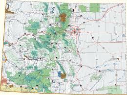 Christmas Tree Permits Colorado Buffalo Creek by Colorado Cutting Areas Information Map