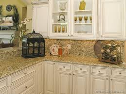 Off White Kitchen Cabinets With Black Countertops