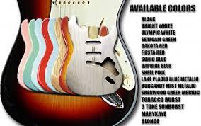 Custom Guitar Finishes