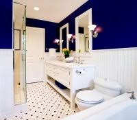 Royal Blue Bathroom Wall Decor by Dark Blue And White Bathroom Ideas Tile Paint Colors With Accents